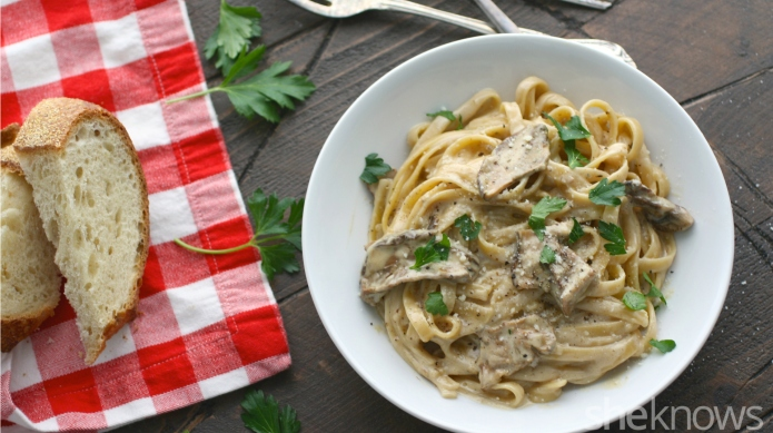 Meatless Monday: Tagliatelle in decadent porcini