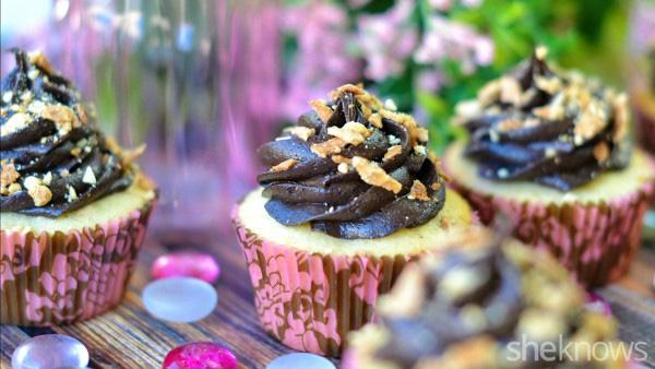 Drumstick cupcakes are a sweet way