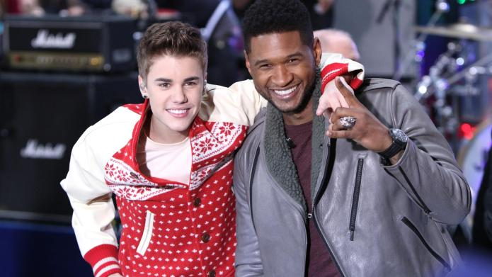 Justin Bieber, Usher Raymond Justin Bieber
