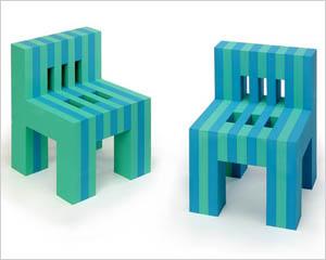 Foam kids chair