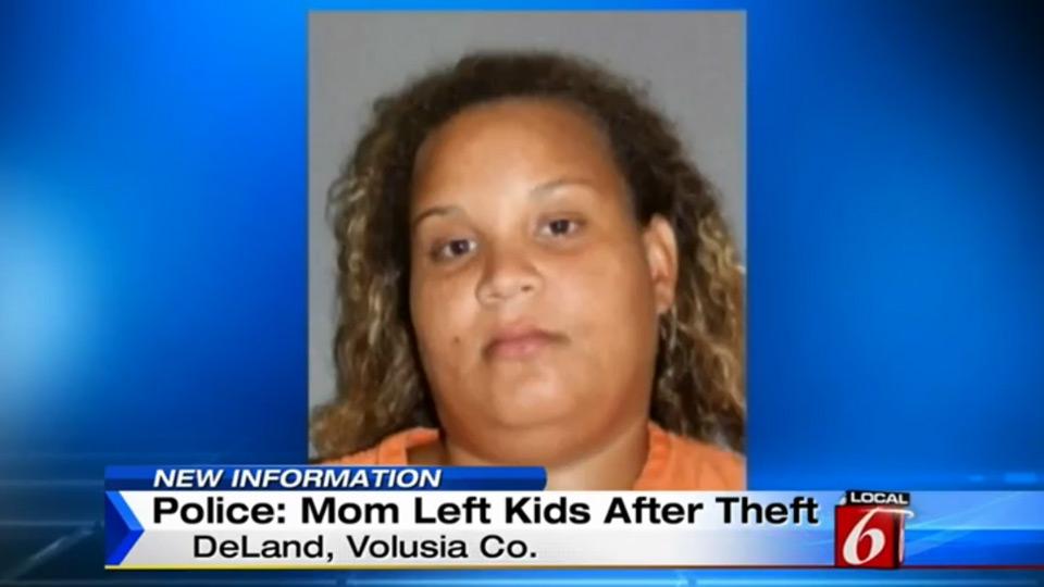 Mom left kids after theft | Sheknows.com