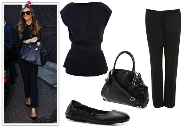 Giuliana Rancic -- chic all in black