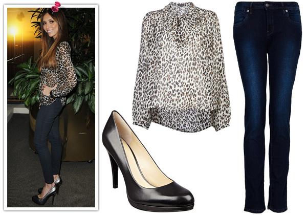 Giuliana Rancic -- firece leopard