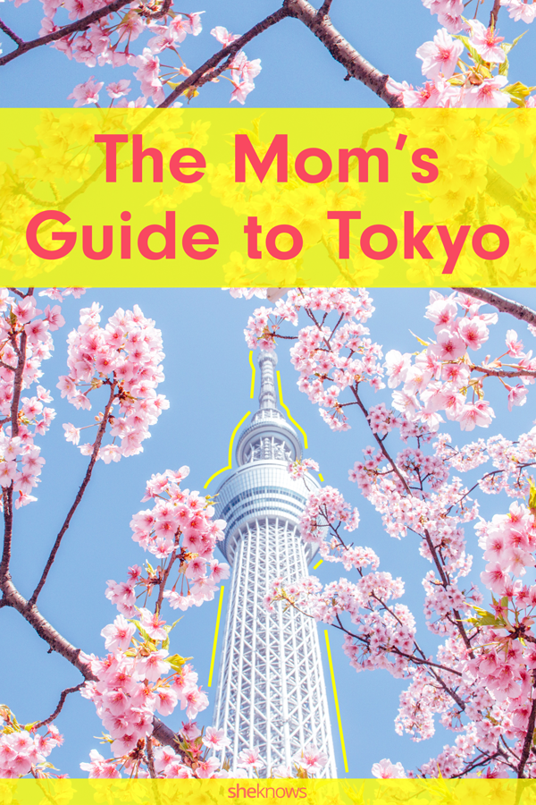 Pin it! Mom's Guide to Toyko
