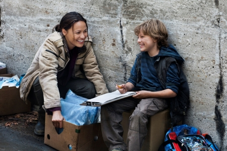 Moon Bloodgood in Falling Skies