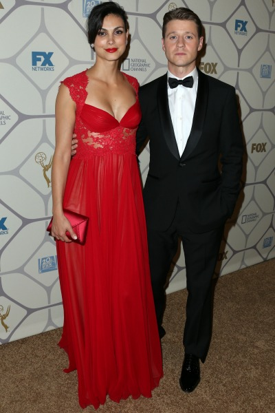 Pregnant Morena Baccarin and Ben McKenzie