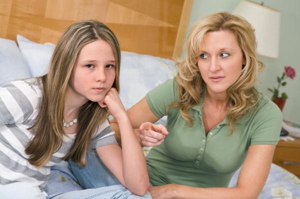 Mother and tween