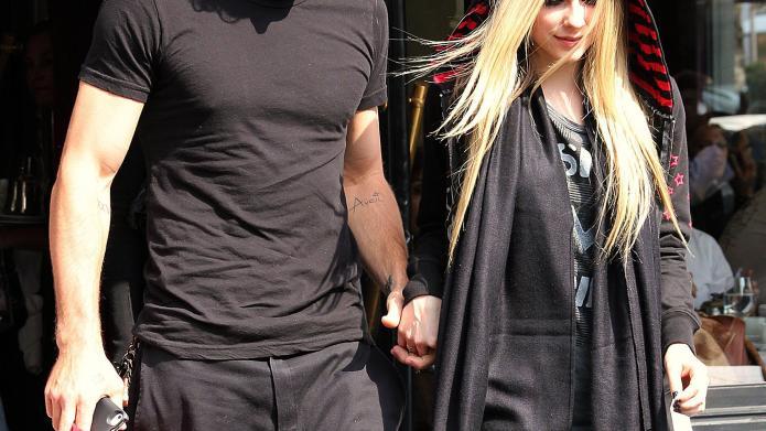Brody Jenner and Avril Lavigne Avril