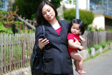 From SAHM to working mom