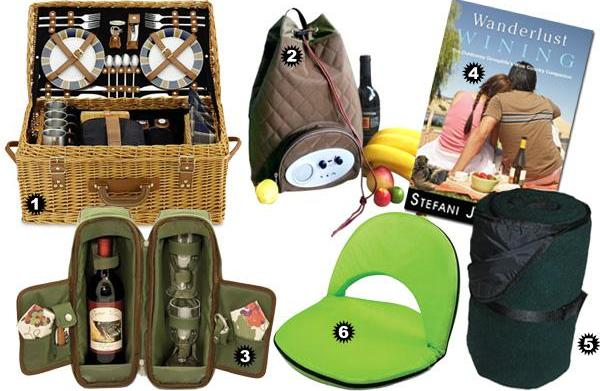 Picnic accessories for comfy outdoor dining