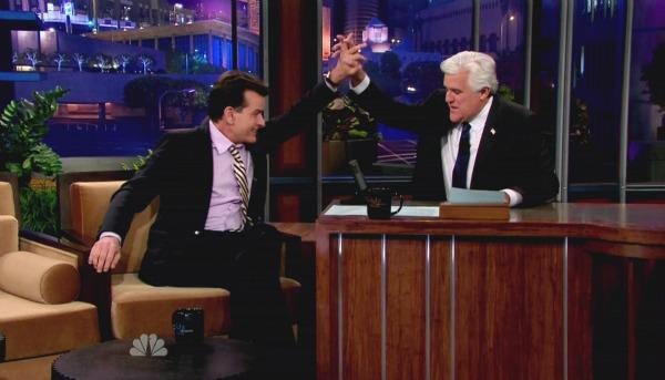 Charlie Sheen dishes the dirt on