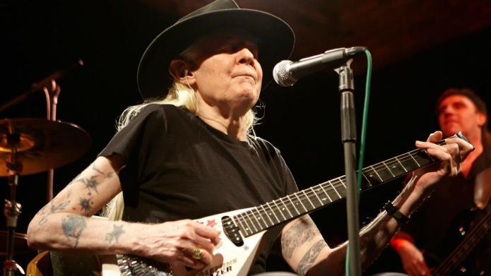Guitar legend Johnny Winter dies at
