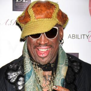 Dennis Rodman was plied with alcohol