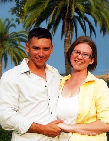 Laura Crawford and her husband, celebrating 12 years of marriage