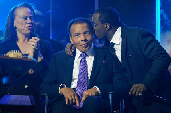 Muhammad Ali celebrates 70th birthday in Las Vegas