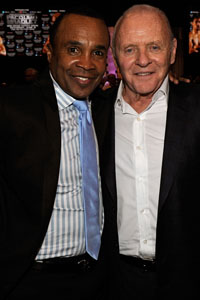 Sugar Ray Leonard Anthony Hopkins Muhammad Ali birthday
