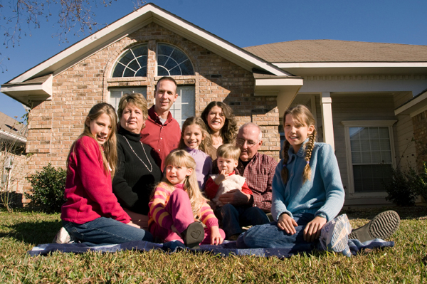 Mult-generational Family