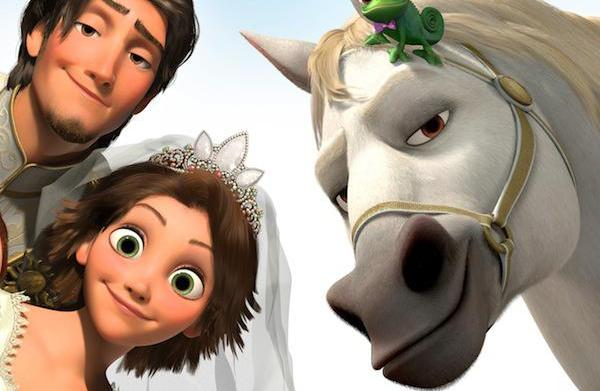 New Tangled short opens before Beauty