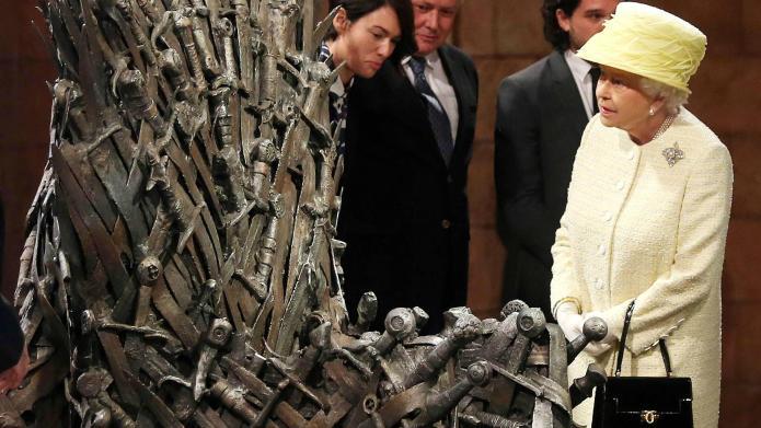 VIDEO: Queen Elizabeth knows the Iron