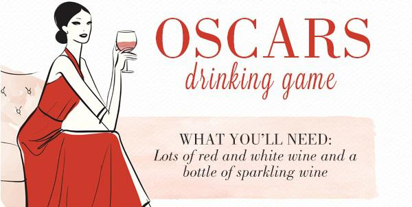 2014 Oscars drinking game: Lights, camera,