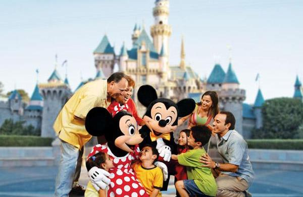 California's Disneyland - The original theme