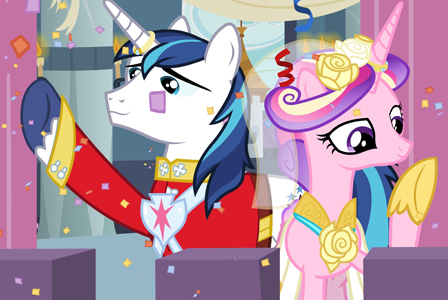 My Little Pony royal wedding
