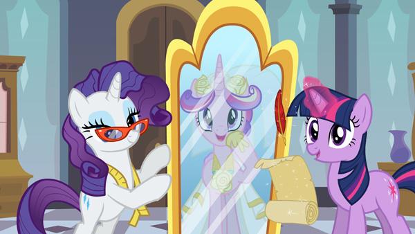 My Little Pony wedding fashion