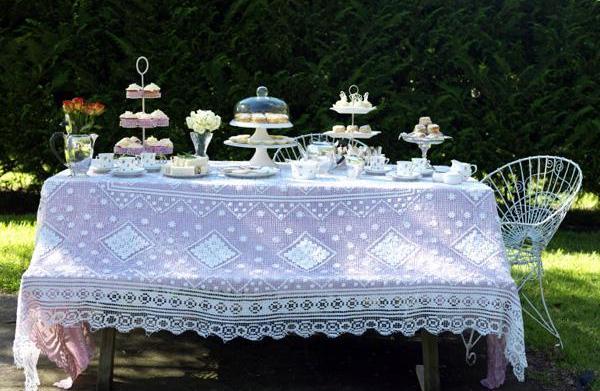 Host a bridal shower tea party