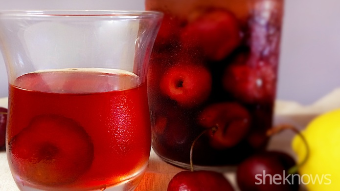 Atomic cherries and cherry moonshine for