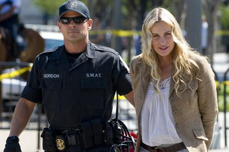 Daryl Hannah arrested outside of White