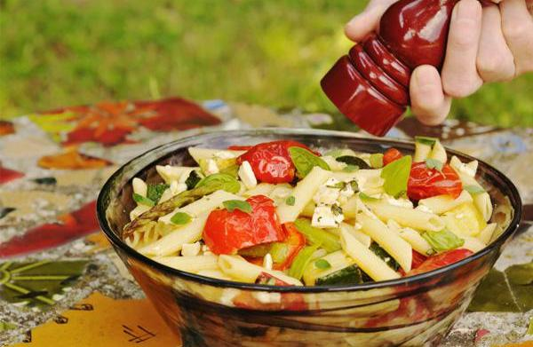 Healthy pasta recipes for summer