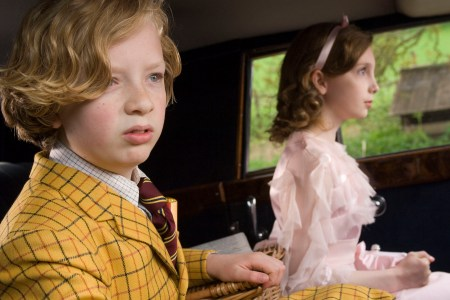 The kids of Nanny McPhee Return set the story in motion