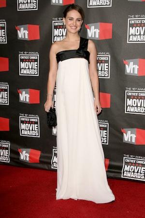 Natalie Portman goes topless for Dior.
