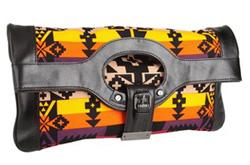 L.A.M.B Dakota convertible clutch
