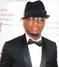 Ne-Yo at charity ball