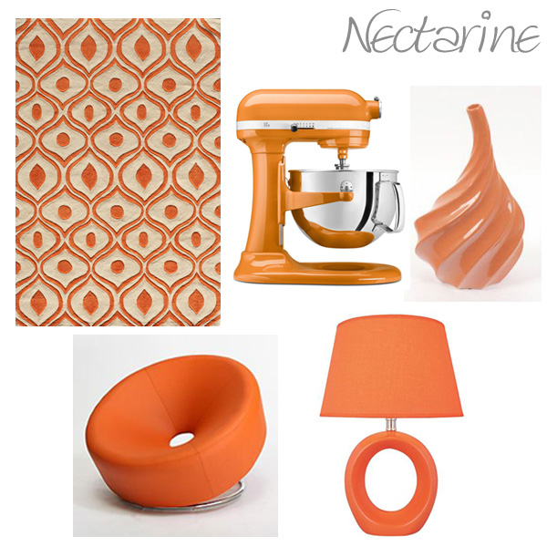 Items around the home featured in orange