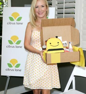 Angela Kinsey of The Office dishes