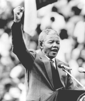 Former South African president Nelson Mandela dies