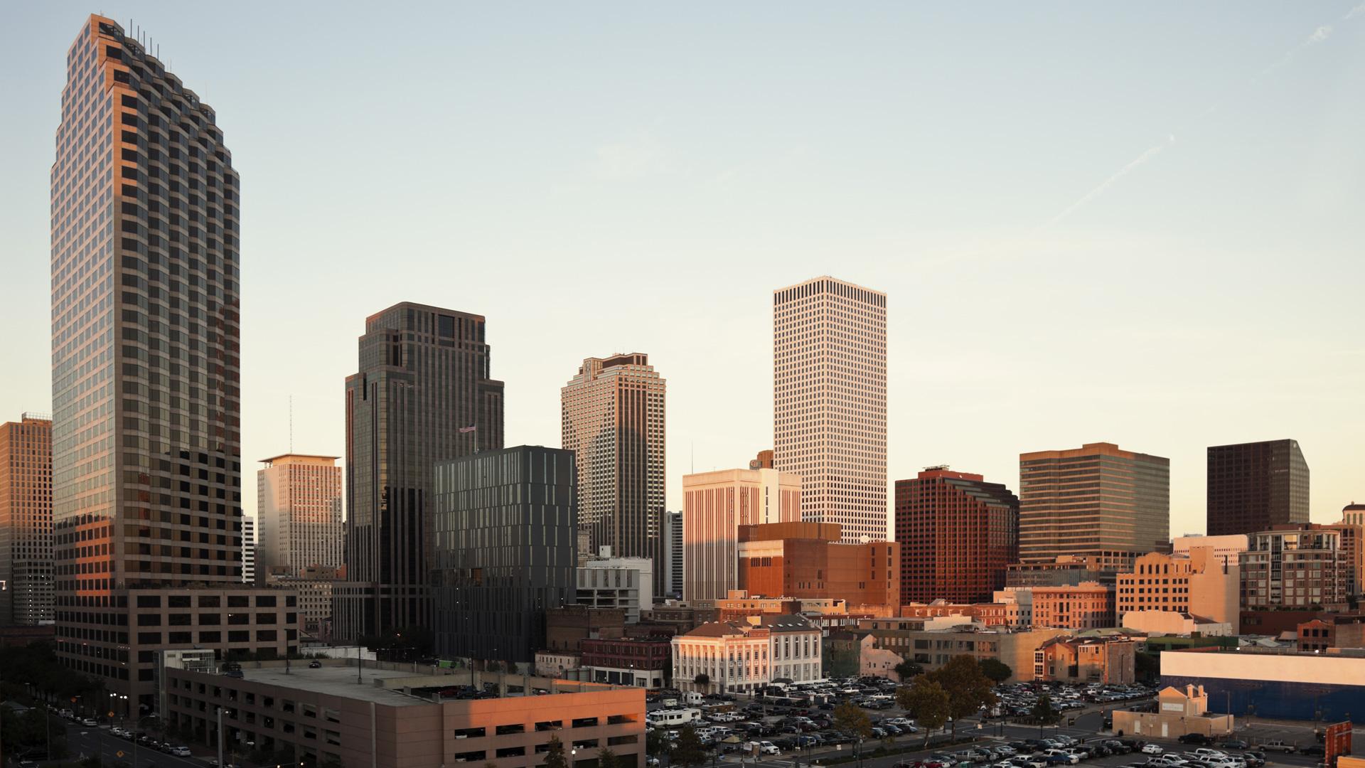 New Orleans, Louisiana skyline