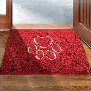 Dirty dog door mat