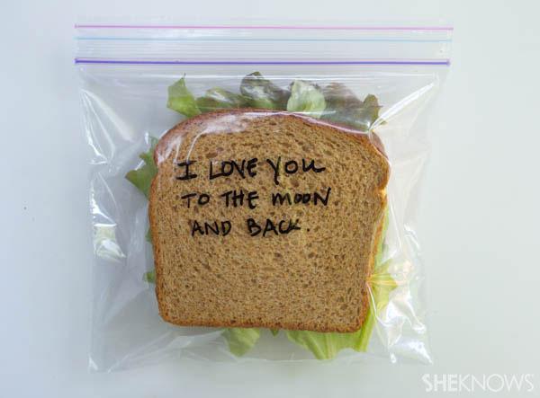 Creative alternatives to the napkin note   SheKnows