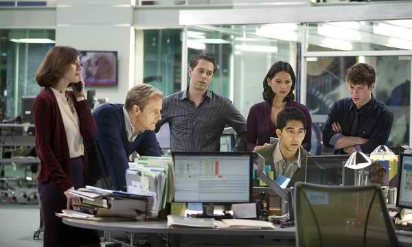 The Newsroom cast