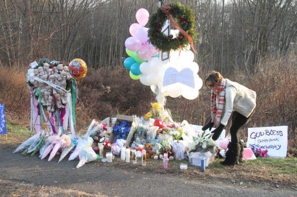Newtown Sandy Hook memorial