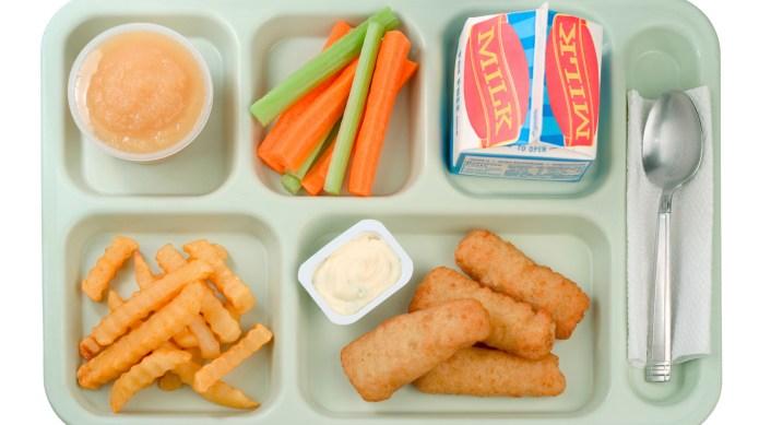 School Food - Fish Sticks