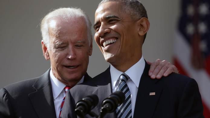Barack Obama and Joe Biden's bromance