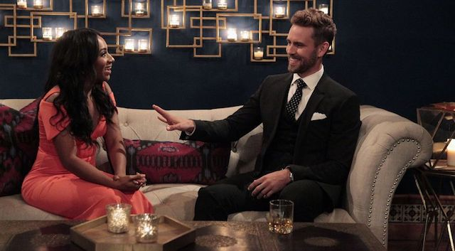 The Bachelor Nick Viall and Dominique