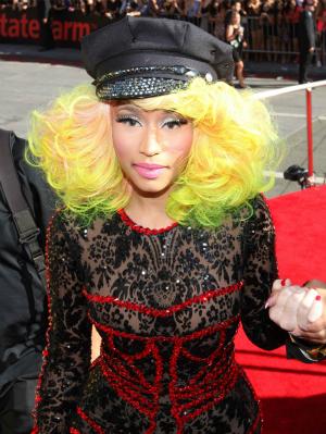 Nicki Minaj at the 2012 MTV Video Music Awards