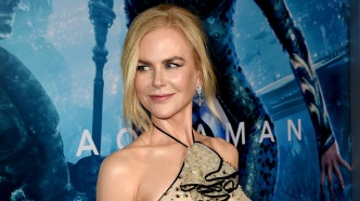 Nicole Kidman arrives at the premiere