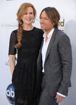 Nicole Kidman and Keith Urban at the 2011 Billboard Music Awards
