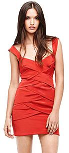 edgy Nicole Miller dress (nicolemiller.com, $465)